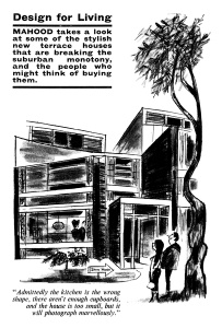 Design and architecture cartoons from Punch magazine by Ken Mahood